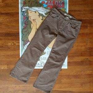 Old Navy Beige Corduroy boot cut pants size 8A